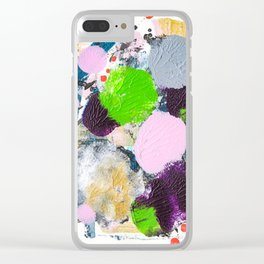 Art abstract Clear iPhone Case
