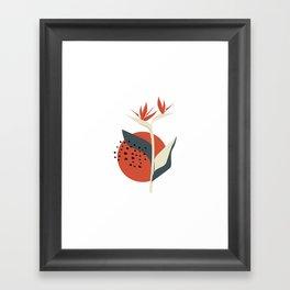 Botanic garden Framed Art Print