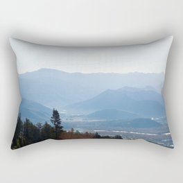View from Teton Pass Rectangular Pillow