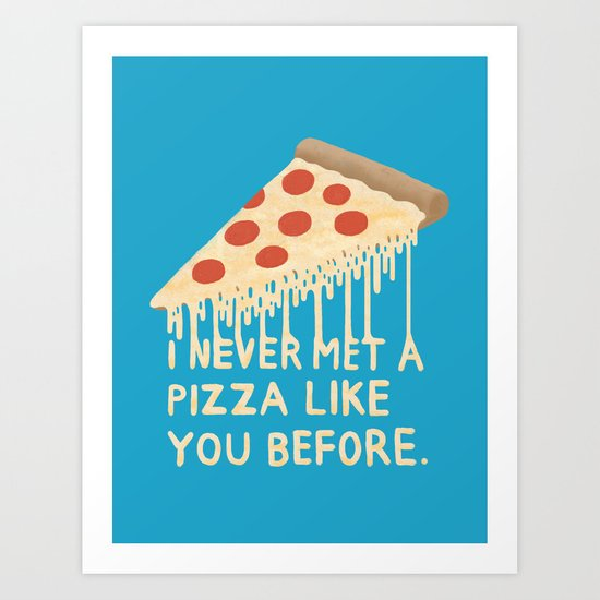 Sweet Pizza Art Print
