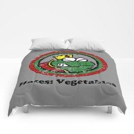 Hates: Vegetables (Battle Damage) Comforters