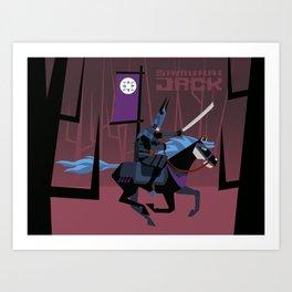 Last Ride of Samurai Jack Art Print