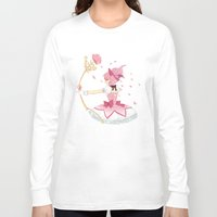 madoka Long Sleeve T-shirts featuring Madoka by Kat Stilwell