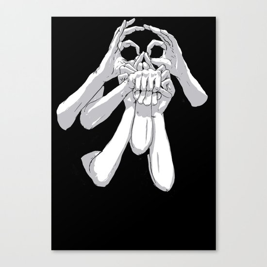 Fingers & Thumbs Canvas Print