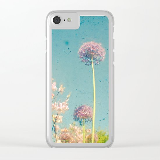 Garden Clear iPhone Case