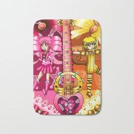 Sailor Mew Guitar #11 - Sailor Chibi Moon & Mew Pudding Bath Mat