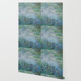 Monet Water Lilies / Nymphéas 1906 Wallpaper