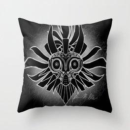 Skull Kid: Legend of Zelda Throw Pillow