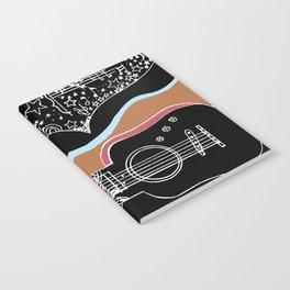 Guitar & stars Notebook