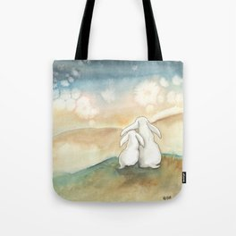 Sharing the Sunrise Tote Bag