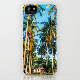 Tropic village iPhone Case