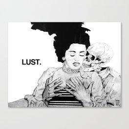 SEVEN DEADLY SINS : LUST. Canvas Print