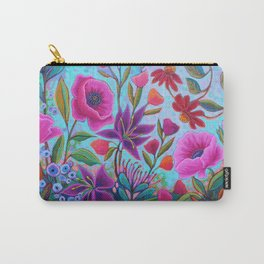 A Colorful Conversation Carry-All Pouch