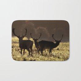 Deer silhoette Bath Mat