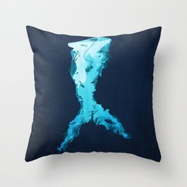 Riches Under the Sea Throw Pillow