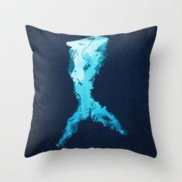 Riches Under the Sea Throw Pillow