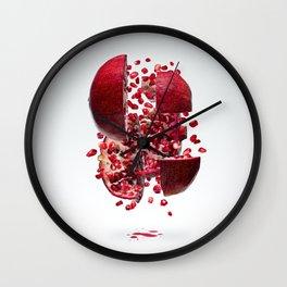 Flying Pomegranate Wall Clock