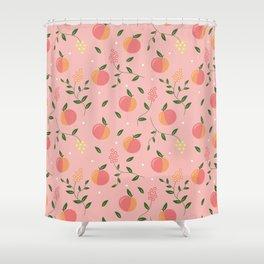 Peachy pattern Shower Curtain