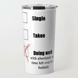 Do Work Travel Mug
