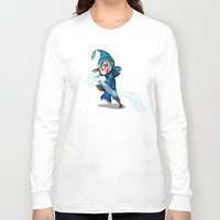 bender Long Sleeve T-shirts featuring Water Bender by MDDesigns