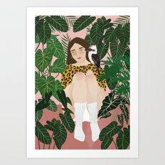 Kooka Art Print