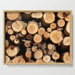 Woodpile Serving Tray