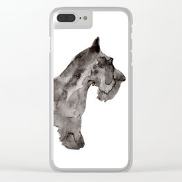 Scotty Dog Clear iPhone Case