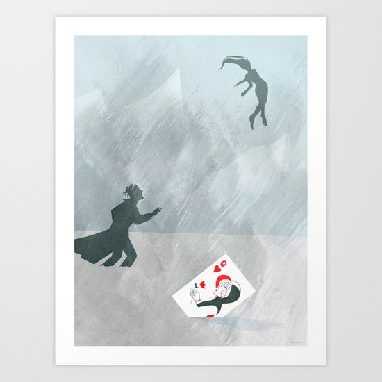 Now, that's cold! Art Print