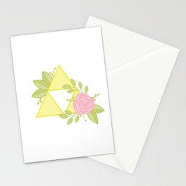 Garden of Power, Wisdom and Courage Stationery Cards