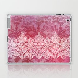 ABERDEEN HEIRLOOM, LACE & DAMASK: REBECCA'S RED Laptop & iPad Skin