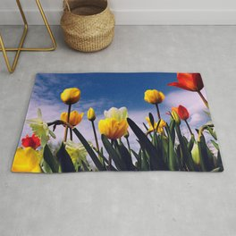 Relax With The Tulips Rug