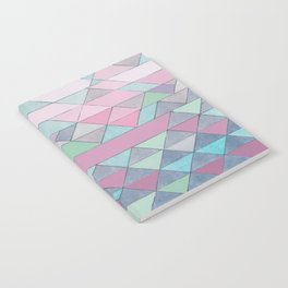 Triangle Pattern no.3 Violet Notebook