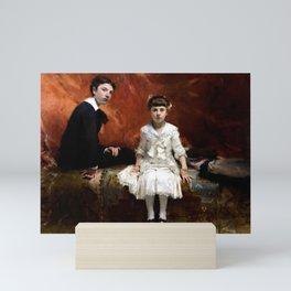 John Singer Sargent - Portrait of Édouard and Marie-Louise Pailleron Mini Art Print