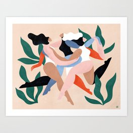Take time to dance Art Print