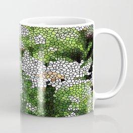 Garden Mosaic Design Coffee Mug