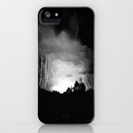 Coming Out Of The Darkness iPhone Case
