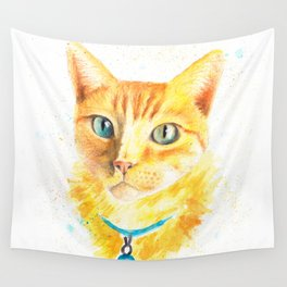 Pony the cat Wall Tapestry