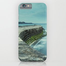 Twisty Harbour Wall iPhone Case