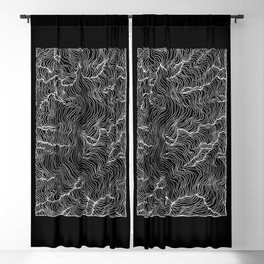 Inverted Incline Blackout Curtain
