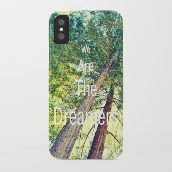 We are the dreamers iPhone Case