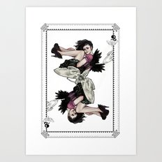 Queen of Wings Art Print