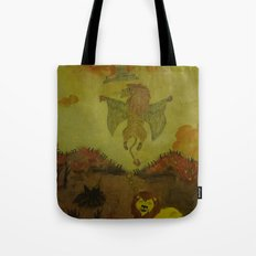 Lion Heaven Tote Bag