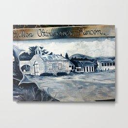 History on the wall 2 @ Rincon Metal Print