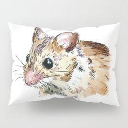 Little Brown Mouse Pillow Sham