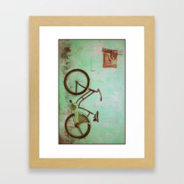 Bicyle Framed Art Print