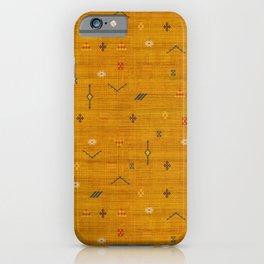 Cactus Silk In Gold iPhone Case