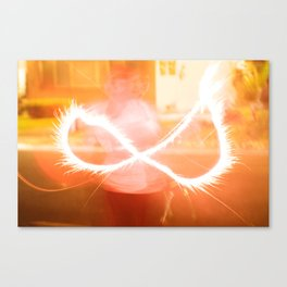 Firework Infinity Canvas Print