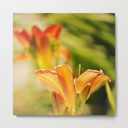 Energized Metal Print