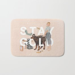 Stay Gold Bath Mat