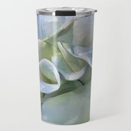 Pastel Blue Calla Lilies Travel Mug